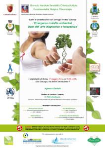Giornata Mondiale Sensibilità Chimica Multipla, Ecefalomielite Mialgica, Fibromialgia
