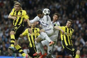 Real Madrid vs Borussia Dortmund - Ritorno semifinale Champions League