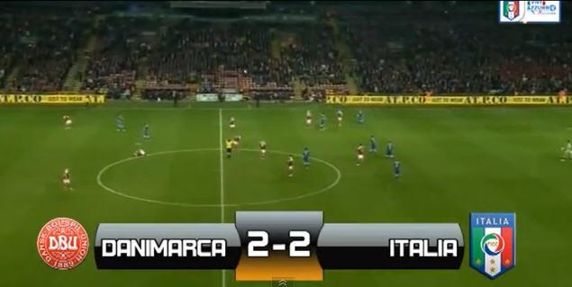danimarca-italia 2-2