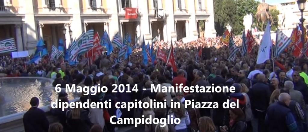 Manifestazione 6 Maggio