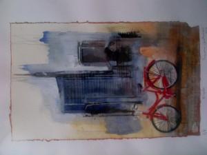 """""""Bicycle"""" 2012 1/1 - Dono dell' Unione Giuristi Cattolici Italiani all'avv. Achille Colombo Clerici"""