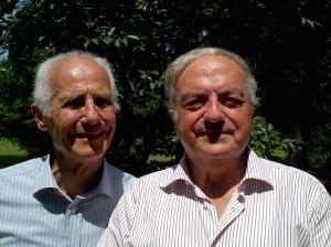 Il presidente di Assoedilizia Achille Colombo Clerici con il vice presidente Bernardo Negri da Oleggio