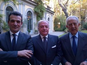 Giuseppe Sopranzetti, Achille Colombo Clerici, Alfio Noto