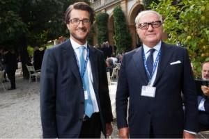 Stefano Simontacchi con il presidente di Assoedilizia Achille Colombo Clerici