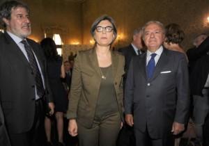 Achille Colombo Clerici con Ada Lucia De Cesaris