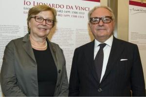 Daniela Ferrari con Colombo Clerici