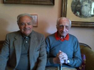 Due amici di Don Peppino: Luigi Caccia Dominioni e Achille Colombo Clerici