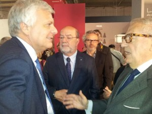 Achille Colombo Clerici con il ministro dell'Ambiente Gian Luca Galletti