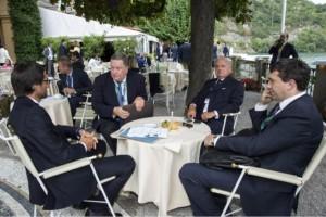 Stefano Simontacchi, Alexander Nurizade, Achille Colombo Clerici pres. Europasia
