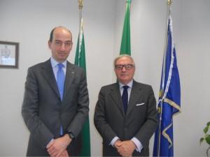 Achille Colombo Clerici e Giorgio Spaziani Testa