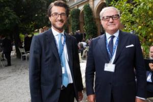 Foto: Stefano Simontacchi e Achille Colombo Clerici presidente IEA