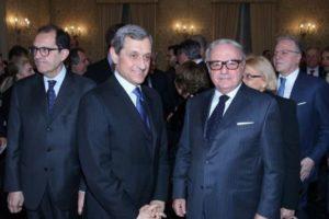Foto d' archivio: Il presid. di IEA Achille Colombo Clerici con il Prefetto di Milano Alessandro Marangoni