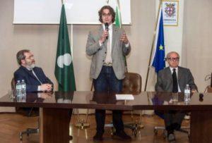 Foto: da sin. Alessandro Panza di Biumo, Gianluca Corrado, Achille Colombo Clerici