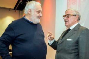 Foto: Cesare Lanza e Achille Colombo Clerici