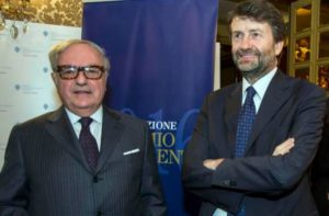 Foto d'archivio: Il Ministro Dario Franceschini con il Presidente di IEA Achille Colombo Clerici