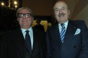 Foto d'archivio: Achille Colombo Clerici e Benito Benedini