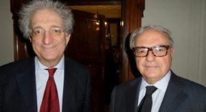 Foto: Colombo Clerici con il Viceministro Enrico Morando