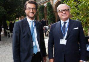 Foto: Stefano Simontacchi con Achille Colombo Clerici pres. di IEA