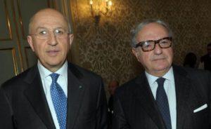 Foto : Antonio Patuelli con Achille Colombo Clerici