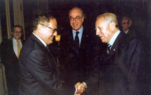 Foto: Achille Colombo Clerici con il Presidente Carlo Azeglio Ciampi