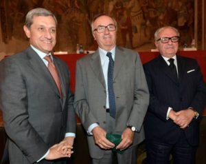 - da sin. Alessandro Marangoni, Edmondo Bruti Liberati, Achille Colombo Clerici
