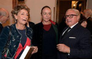 - Achille Colombo Clerici con Finette e Chiara Beria di Argentine