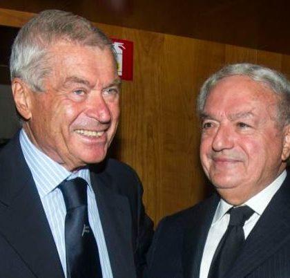 Foto Carlo Sangalli con Achille Colombo Clerici pers. IEA