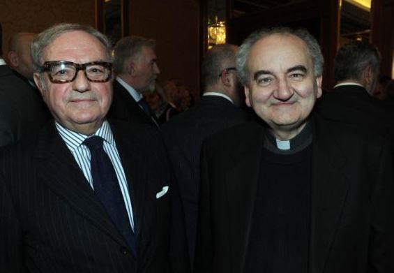 Foto: Mons. Franco Buzzi con il pres. IEA Achille Colombo Clerici
