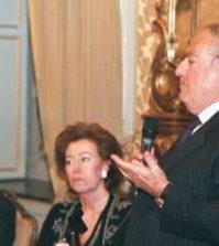 - Achille Colombo Clerici con Letizia Moratti